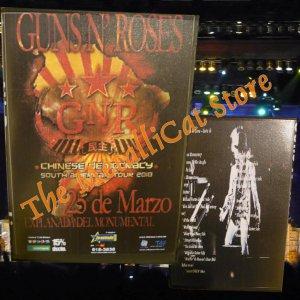 GUNS N' ROSES Concert in Lima 2010 AXEL ROSE 2-DVD Set