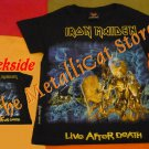 T-SHIRT IRON MAIDEN Live After Death CD SIZE S for GIRLS