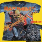 T-SHIRT IRON MAIDEN The Trooper ALLOVER HEAVY METAL CD SIZE S
