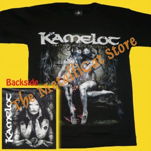 T-SHIRT KAMELOT Poetry For The Poisoned SYMPHONIC METAL CD SIZE S