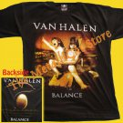 T-SHIRT VAN HALEN Balance CD SIZE L HEAVY METAL