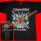 T-SHIRT 3 INCHES OF BLOOD Fire Up The Blades CD SIZE L HEAVY METAL