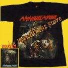 T-SHIRT ANNIHILATOR All for You THRASH METAL CD SIZE S