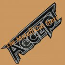ACCEPT Breaker EMBROIDERED SMALL PATCH HEAVY METAL CD