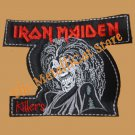 IRON MAIDEN Killers SMALL Embroidered Patch HEAVY METAL CD