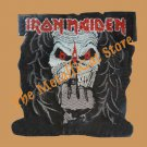 IRON MAIDEN Finger Up SMALL Embroidered Patch HEAVY METAL CD