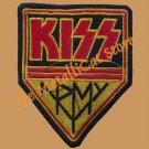 KISS Army SMALL Embroidered Patch HEAVY METAL CD