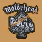 MOTORHEAD Ace of Spades SMALL Shape Embroiderd Patch THRASH METAL CD