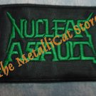 NUCLEAR ASSAULT Band Logo SMALL EMBROIDERED PATCH CD THRASH METAL