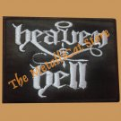 HEAVEN & HELL Band Logo SMALL EMBROIDERED PATCH CD HARD ROCK