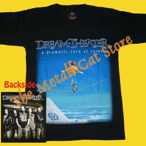 T-SHIRT DREAM THEATER A Dramatic Turn of Events PROGRESSIVE METAL CD SIZE S