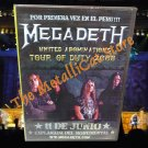 MEGADETH United Abominations Tour 2008 Concert in Lima DVD THRASH METAL