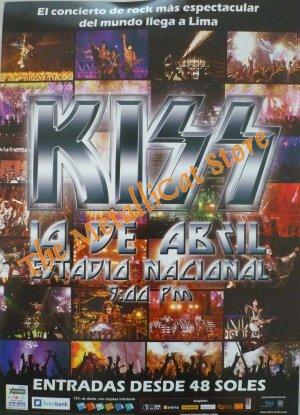 KISS Concert in Lima 2010 2-DVD Set