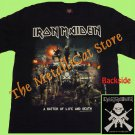 T-SHIRT IRON MAIDEN A Matter of Life & Death CD SIZE XL