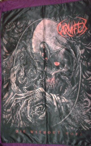 CARNIFEX Die Without Hope FLAG CLOTH POSTER WALL TAPESTRY BANNER CD DEATHCORE