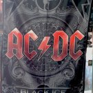 AC/DC Black Ice FLAG CLOTH POSTER WALL TAPESTRY BANNER CD Angus Young HEAVY METAL