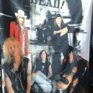 GUNS N' ROSES Band 3 FLAG BANNER CLOTH POSTER WALL TAPESTRY CD Lies METAL