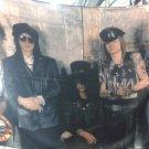 GUNS N' ROSES Band 5 FLAG BANNER CLOTH POSTER WALL TAPESTRY CD Lies METAL