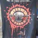 GUNS N' ROSES Not in this Lifetime Tour 2016 Lima Peru Logo FLAG CLOTH POSTER