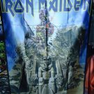 IRON MAIDEN Somewhere Back in Time FLAG CLOTH POSTER WALL TAPESTRY BANNER CD