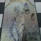 METALLICA And Justice for All FLAG CLOTH POSTER WALL TAPESTRY BANNER CD Thrash