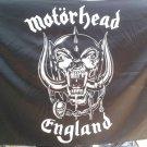 MOTORHEAD England 2 FLAG CLOTH POSTER TAPESTRY BANNER CD Thrash Metal