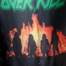 OVERKILL Feel the Fire FLAG CLOTH POSTER WALL TAPESTRY BANNER CD Thrash Metal