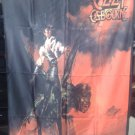 OZZY OSBOURNE The Ultimate Sin FLAG CLOTH POSTER WALL TAPESTRY BANNER CD Rock