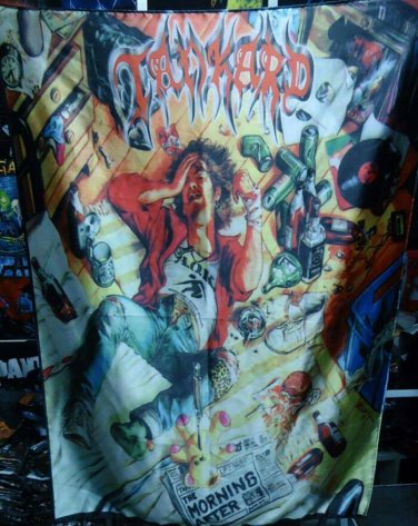 TANKARD The Morning After FLAG BANNER CLOTH POSTER WALL TAPESTRY CD Thrash Metal