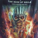 IRON MAIDEN Book of Souls - North America Tour 2017 FLAG CLOTH POSTER WALL TAPESTRY CD Heavy Metal