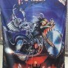 JUDAS PRIEST Painkiller FLAG CLOTH POSTER TAPESTRY BANNER CD Thrash