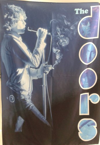 THE DOORS Jim Morrison FLAG BANNER CLOTH POSTER TAPESTRY Hard Rock