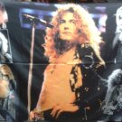 LED ZEPPELIN Robert Plant FLAG CLOTH POSTER WALL TAPESTRY BANNER CD Hard Rock