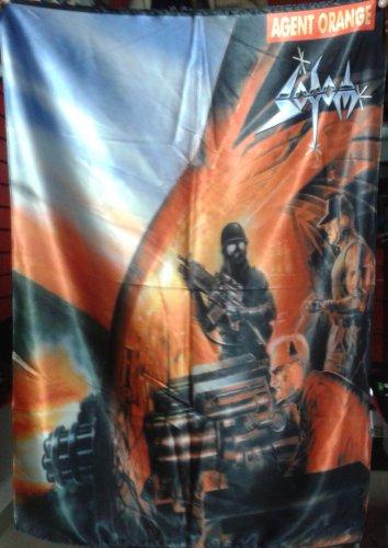 SODOM Agent Orange FLAG CLOTH POSTER WALL TAPESTRY BANNER CD Thrash Metal