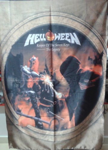 HELLOWEEN Keeper of the Seven Keys - The Legacy FLAG CLOTH POSTER TAPESTRY CD