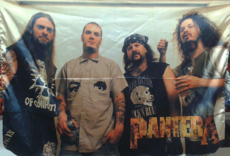 PANTERA Band 1 FLAG POSTER WALL TAPESTRY BANNER CD Thrash Metal