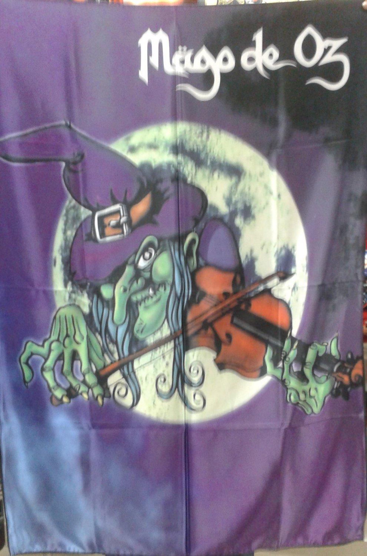 MAGO DE OZ La Bruja FLAG CLOTH POSTER TAPESTRY BANNER CD Power Metal