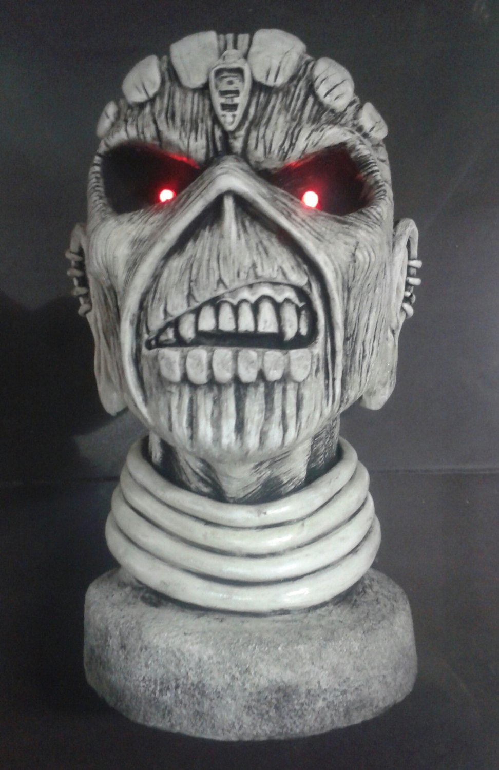 IRON MAIDEN The Book of Souls STATUE BUST SCULPTURE CD