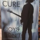 THE CURE Boys Don't Cry FLAG CLOTH POSTER WALL TAPESTRY BANNER CD New Wave