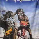 IRON MAIDEN The Book of Souls - New York LP FLAG CLOTH POSTER TAPESTRY BANNER CDBANNER CD