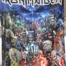 IRON MAIDEN Metal Hammer Magazine FLAG CLOTH POSTER TAPESTRY BANNER CD Eddie