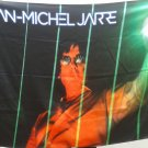 JEAN-MICHEL JARRE Laser Harp Rendez-Vous Electronica FLAG CLOTH POSTER CD