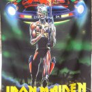 IRON MAIDEN Somewhere On Tour 86/87 FLAG CLOTH POSTER WALL TAPESTRY BANNER CD
