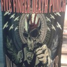 FIVE FINGER DEATH PUNCH War is the Answer FLAG CLOTH POSTER BANNER CD Groove