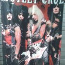 MOTLEY CRUE A Visual History FLAG CLOTH POSTER TAPESTRY BANNER CD