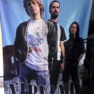 NIRVANA Outdoor Kurt Cobain FLAG CLOTH POSTER WALL TAPESTRY BANNER CD Grunge