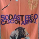 SODA STEREO Canción Animal FLAG CLOTH POSTER TAPESTRY BANNER Cerati Zeta Alberti ROCK