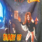 OZZY OSBOURNE Diary of a Madman FLAG CLOTH POSTER WALL TAPESTRY CD LP  Hard Rock