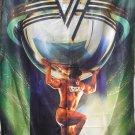 VAN HALEN 5150 FLAG CLOTH POSTER WALL TAPESTRY BANNER CD Hard Rock LP