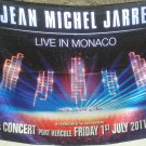 JEAN-MICHEL JARRE Live in Monaco FLAG CLOTH POSTER WALL TAPESTRY BANNER CD LP